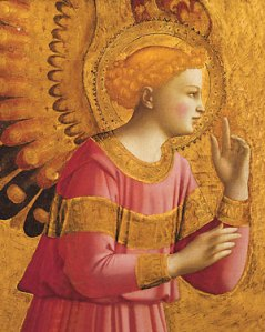 Fra_Angelico-Annunciatory_Angel-detail
